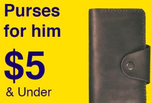 ส่วนลด ebay โปรโมชั่น Purses for him Under $5 กระเป๋าเงินผู้ชาย ราคาไม่เกิน 200 บาท