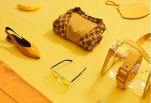 Pomelo โปรโมชั่น Trending Now : Yellow รวมสินค้าโทนสีเหลืองสียอดนิยม เอาใจคนรักสีเหลือง