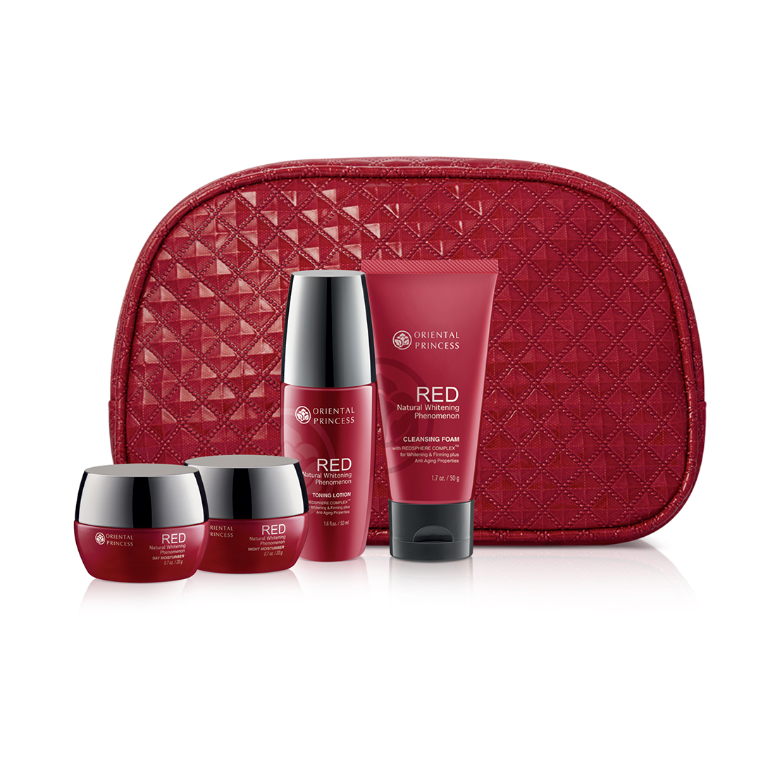 ORIENTAL PRINCESS RED Natural Whitening Phenomenon Collection Set