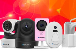 ดีล aliexpress มอบคูปอง ส่วนลดสูงสุด 3$ สำหรับกล้องวงจรปิดแบรนด์คุณภาพ Vstarcam