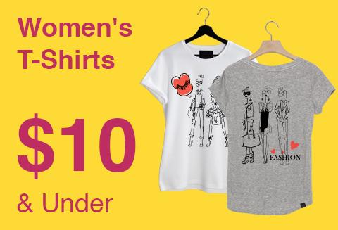 ส่วนลด Ebay ไม่ต้องใช้ Redemtion Code เสื้อยืดผู้หญิงสไตล์แคชชวล ราคาถูกกว่า 350 บาท มีให้เลือกมากกว่า 158 รายการ