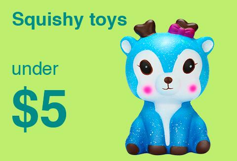 โปรโมชั่น Ebay ตุ๊กตาสกุชชี่แสนน่ารักลดราคาพิเศษ ของเล่นบีบ Squishy เหลือเพียงไม่เกินชิ้นละ 150 บาท หรือถูกกว่า มีให้เลือกมากกว่า 110 แบบ