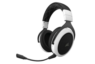 HEADSET (หูฟัง) CORSAIR HS70 WIRELESS 7.1 WHITE [CA-9011177-AP]