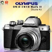 โปรโมชั่น Shopee Code Olympus Camera OMD EM10 Mark2 DoubleKit  ลดราคา 32% ลดเพิ่มอีก 200 บาท เมื่อใช้โค้ด NEWDIGI