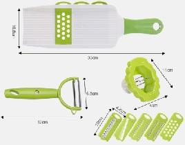โปรโมชั่น Shopee 11.11  ชุดมีดหั่นผักอเนกประสงค์  ลด 35% ลดเพิ่มอีก 100 บาท ใส่โค้ด NEWYEXH