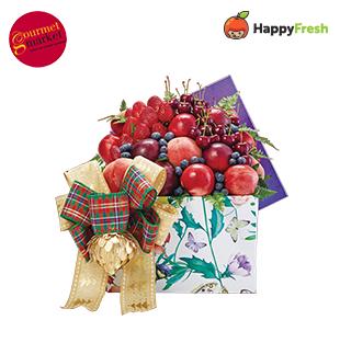 Blissful Hamper: Friendship Fruit Hamper FR-3